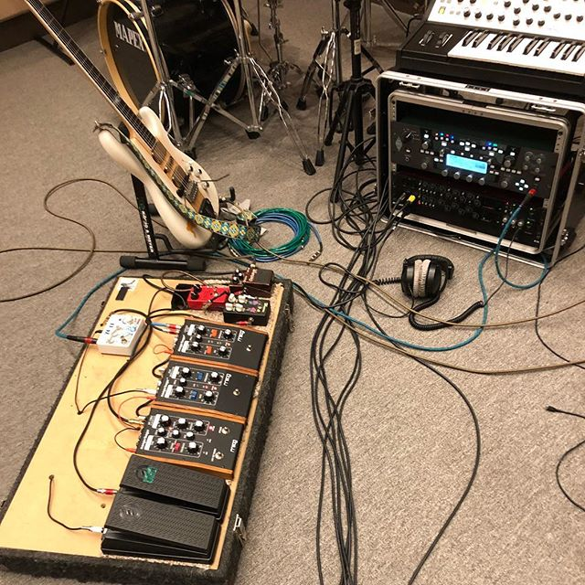 The studio/rehearsal rig