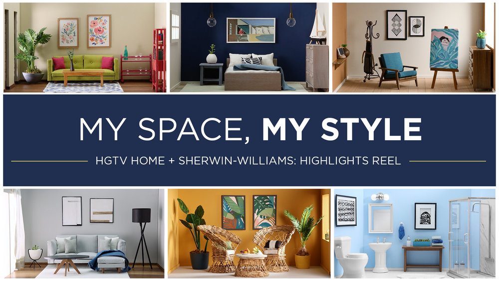 To Showcase HGTV And Sherwin Williamsu0027 Best Interior Design Tips, We  Conceived A Campaign To Help Viewers Pick The Right Colors And Accents To  Personalize ...
