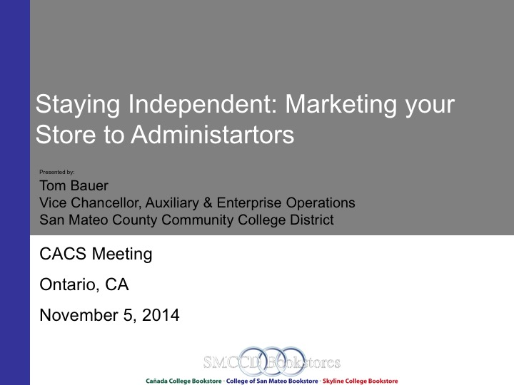 Staying Independent: Marketing your Store to Administrators