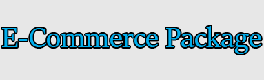 e-commerce setup