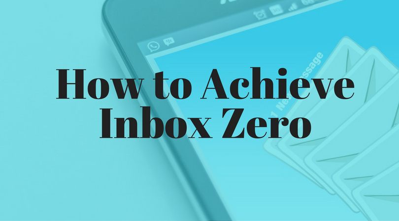 how to achieve inbox zero