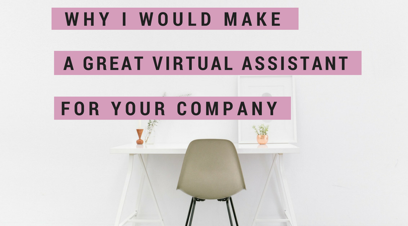 why im a great virtual assistant