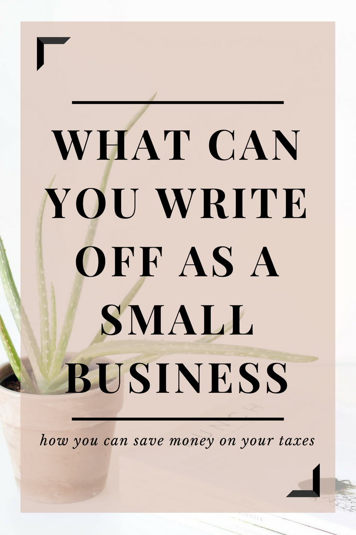 what expenses can you write off as a small business