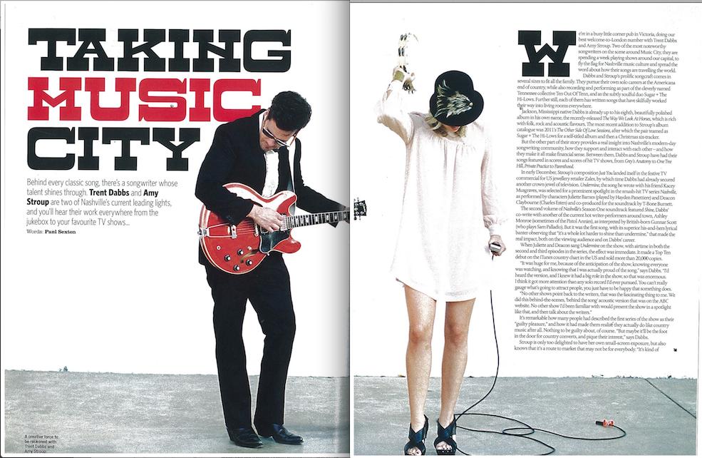 Country Music Magazine Sugar The Hi Lows