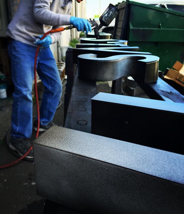 We fabricate all of our signs to fit your needs. Custom made just for you!