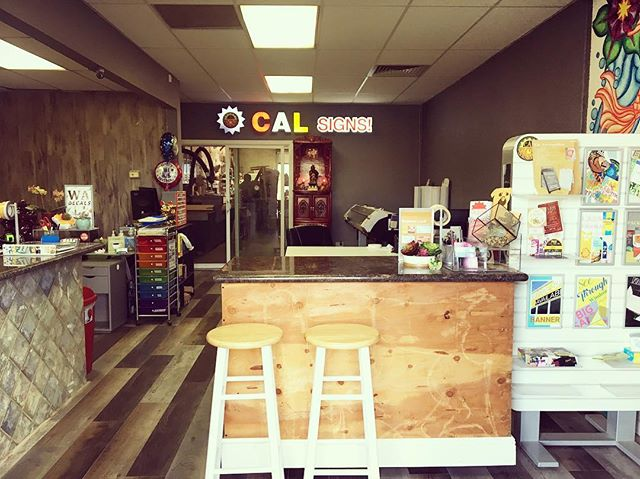 Welcome to Cal Signs Inc. We love our new office renovations. Come visit us and please let us know if you need any signs, we're here to help! Happy Monday! Enjoy your week 🤗⭐️☀️ #signs #sacramento #office #upgrade #business #calsigns