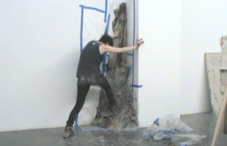 Brie Ruais,  Nobody Puts Baby in the Corner (Big Push in a New Space), March 26, 2012. 10:15pm-10:58pm , 2012, Video, Edition 1/5, 2:28 minutes