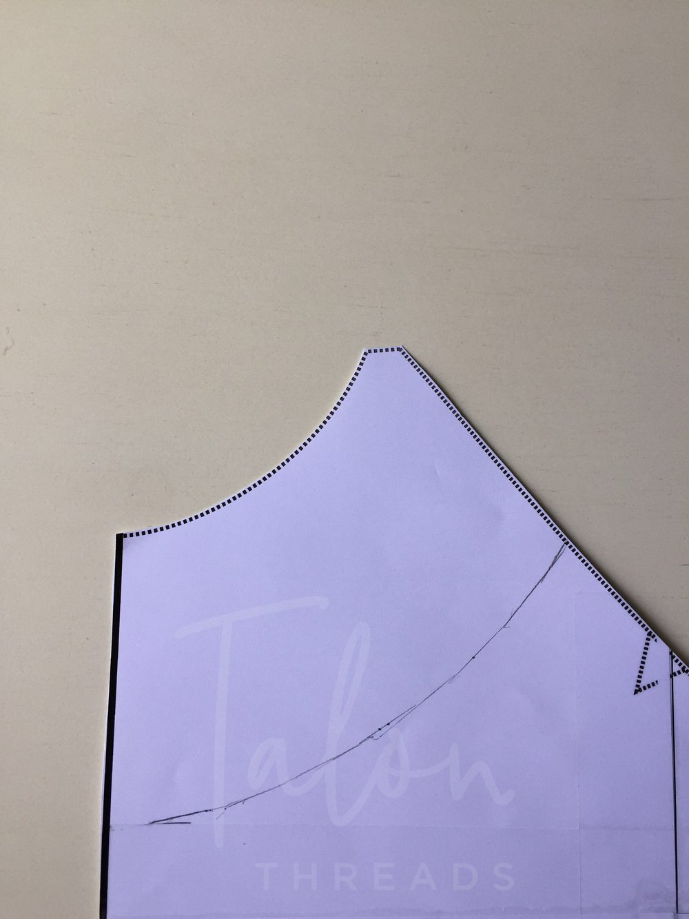 Creating the new neckline
