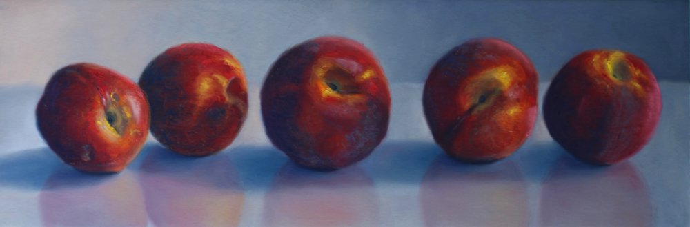"""Prince Edward County's Finest"", pastel on paper, 8"" x 24""  • Sold"