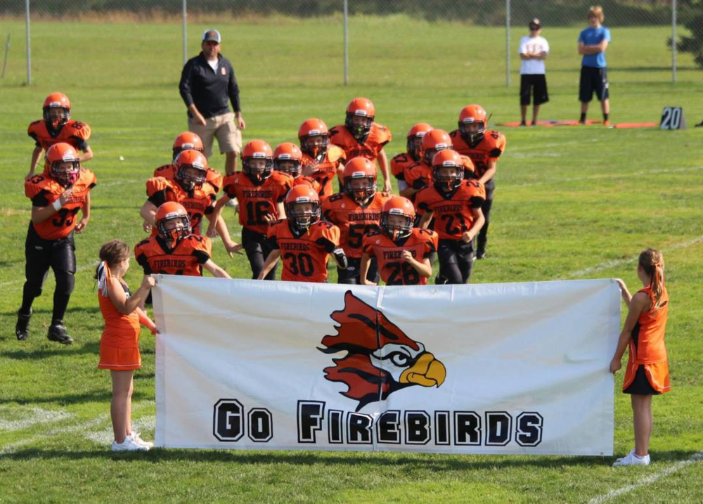 ready for kick-off at a home game at Thunderbird Field in Scandinavia.