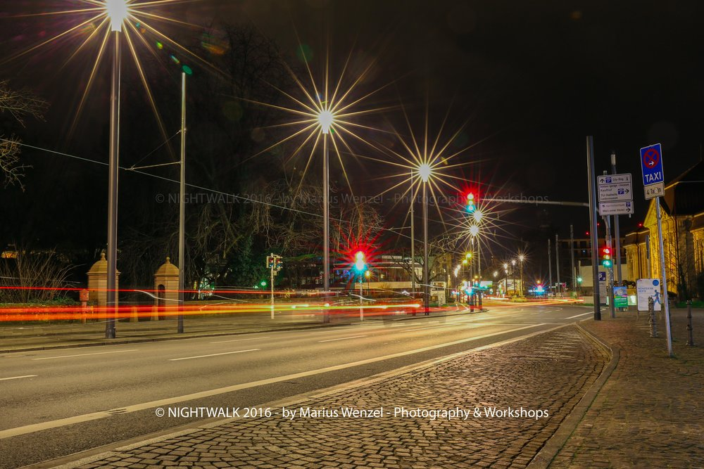 CITYRING BEI NACHT
