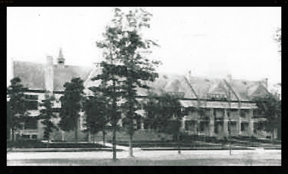 Bachelor Officers' Quarters and Mess 1900