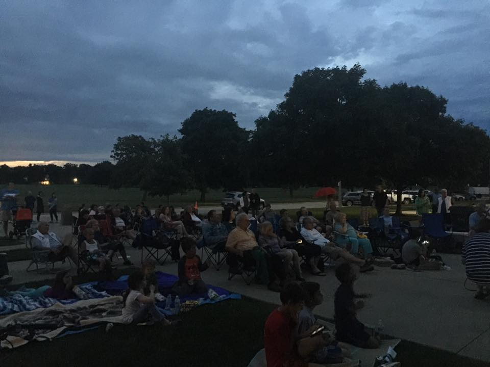Fort Sheridan Movie Night