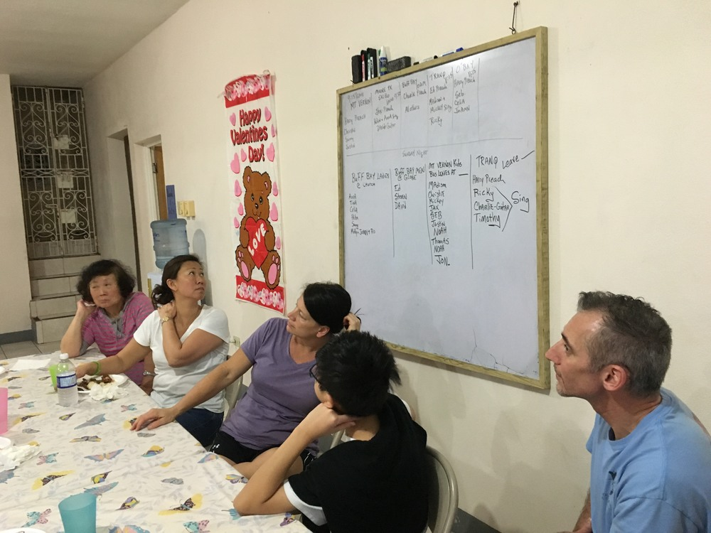Team planning daily agenda
