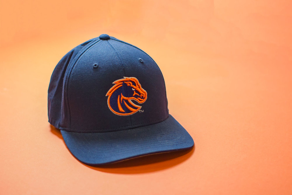 Boise State University - Promo Hat - Produced by Name Brand Promotions