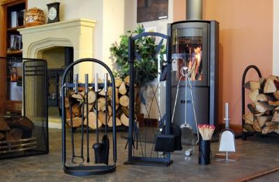 Companion sets, hearth tidies, fire screens, log stores, baskets.........