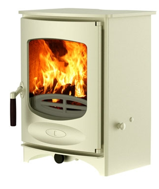 Charnwood C Four, Almond, as displayed in our showroom