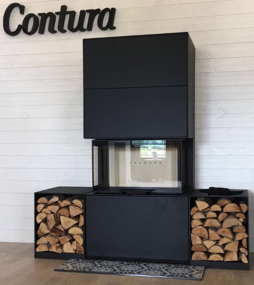 Contura i51 Steel, as displayed in our showroom