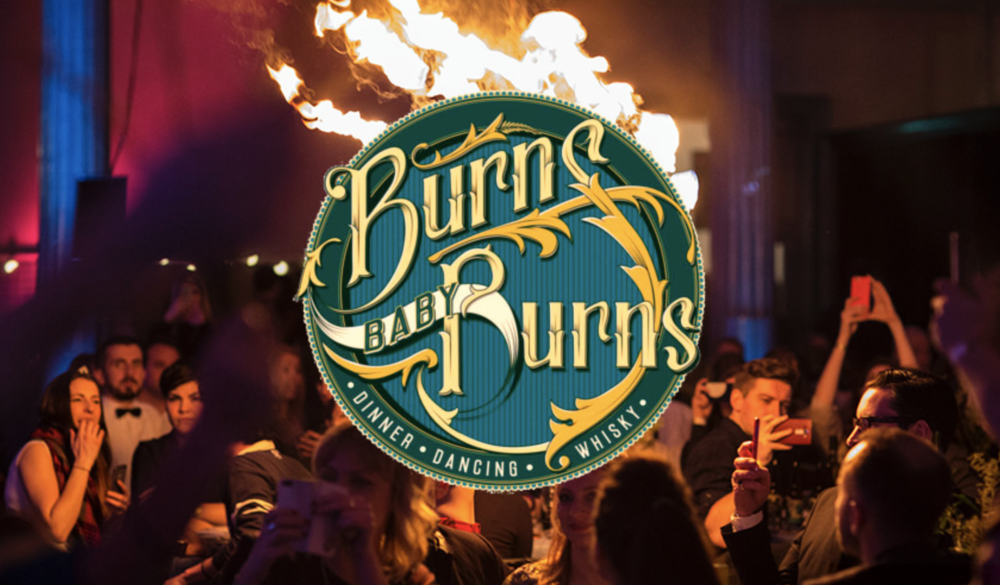 Burns Baby Burns - The Times - Burns nIGHT SUPPER