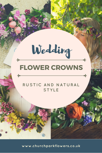rustic flower crowns