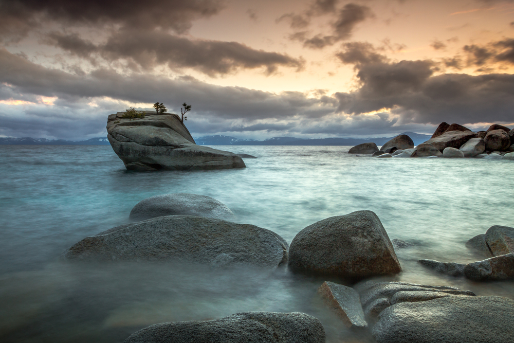 Bonsai Rock in Lake Tahoe is a photographic attraction every photographer must see.