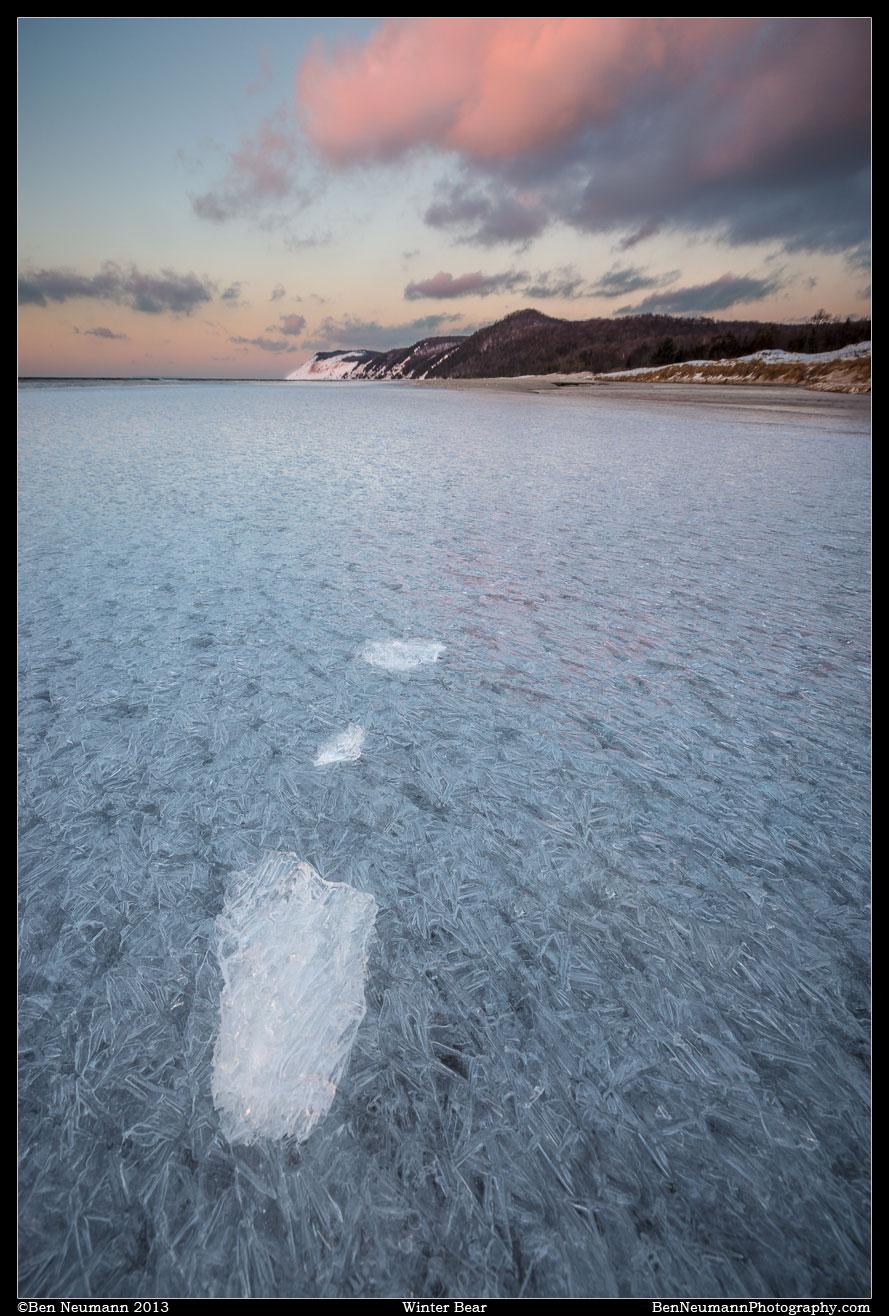 Ben_Neumann_fine_art_Sleeping_bear_dunes_winter
