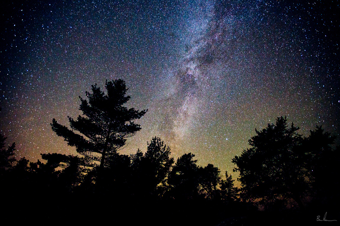 Sleeping Bear Dunes National Lakeshore Milky Way.