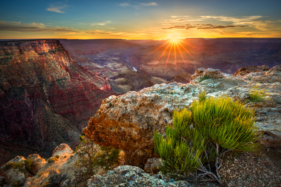 This was taken at sunset at Lipan point in Grand Canyon National Park