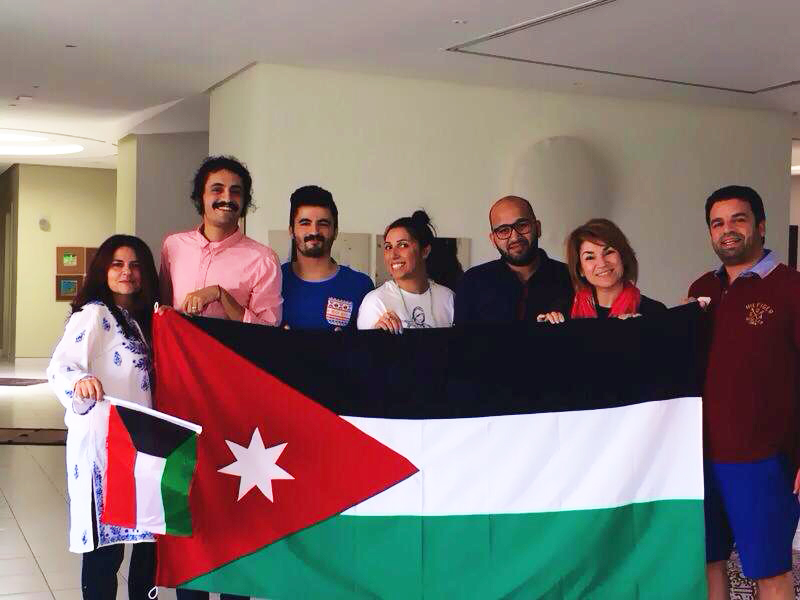 Amira Behbehani and fellow artists and musicians in Kuwait create a special concert for the people of Jordan on Jordan's independence day (May 25).
