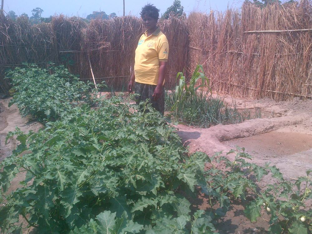 The Savannah Project in Zambia plants a garden for the people of Botswana on Botswana's independence day (Sep 30).