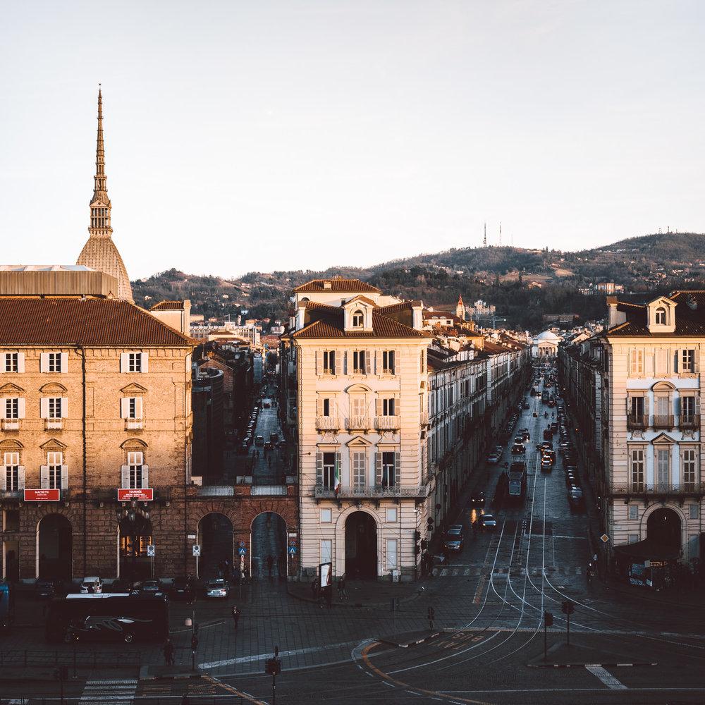 Paesaggio urbano di Torino