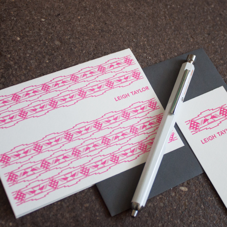 Custom Stationary and Letterpress Printing