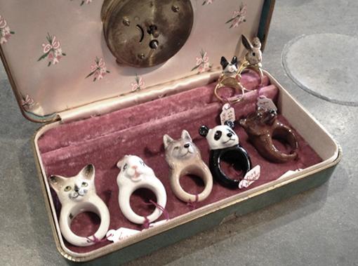 Handmade Porcelain Rings