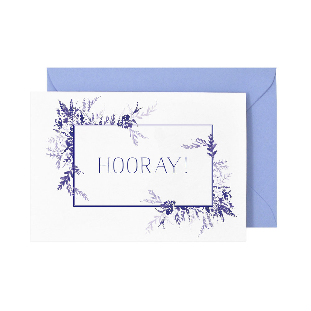 Hooray! Card  £3.50