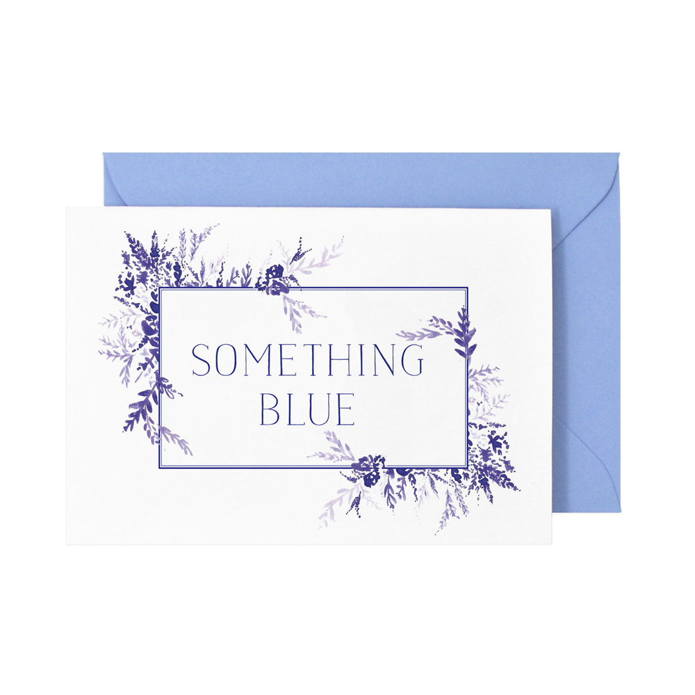 Something Blue Card  £3.50