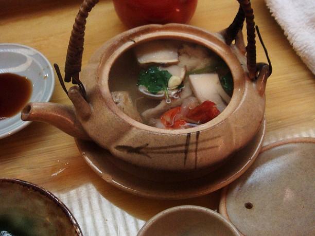 Matsutake Mushroom Soup