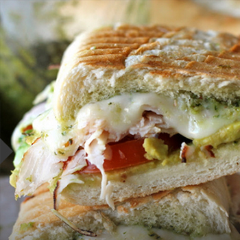 56 Recipes for Leftover Turkey - 'turkey panini'