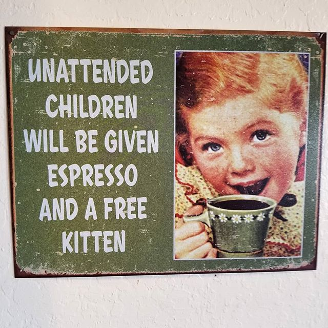 Solid parenting advice. #startthemyoung #avondale #arizona #dinerchic #wisdomfromthedesert