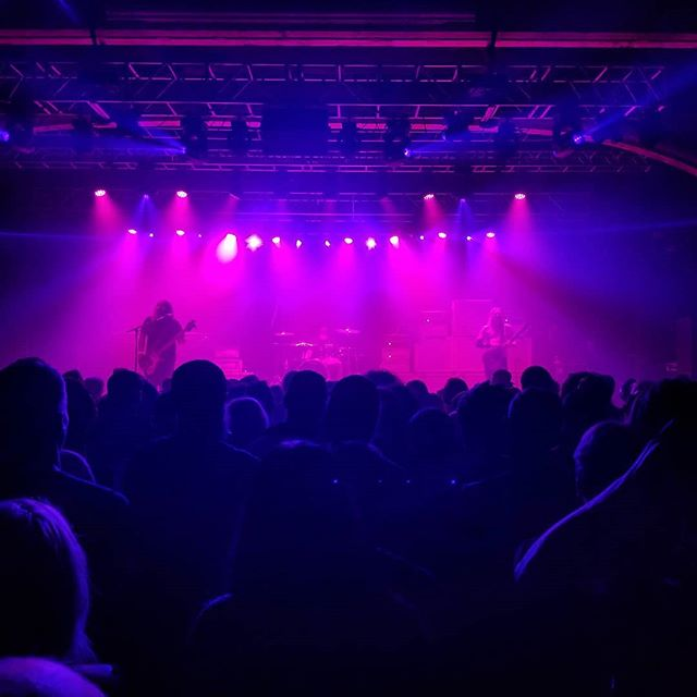 Epic music. Heavy riffs. No bullshit. Power trio and stoner metal legends Sleep at the Van Buren last night. #sleep #stonermetal #vanburen #phoenix #heavymetal #thesciences #youcantkill #rockandroll