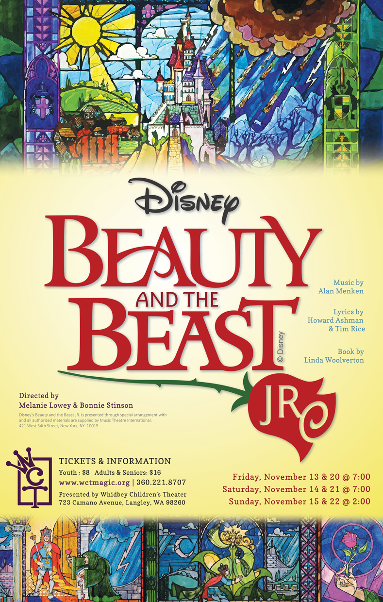Disney S Beauty And The Beast Jr Whidbey Children S Theatre