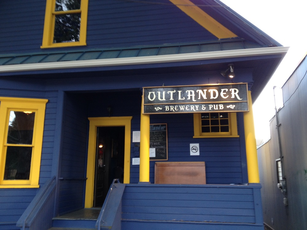 Visit to outlander brewery and pub in freemont, seattle, wa