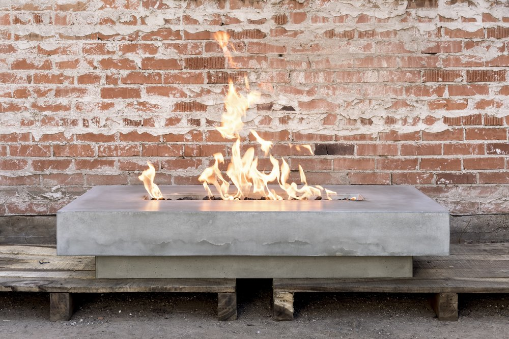 CONCRETE FIRE FEATURE -