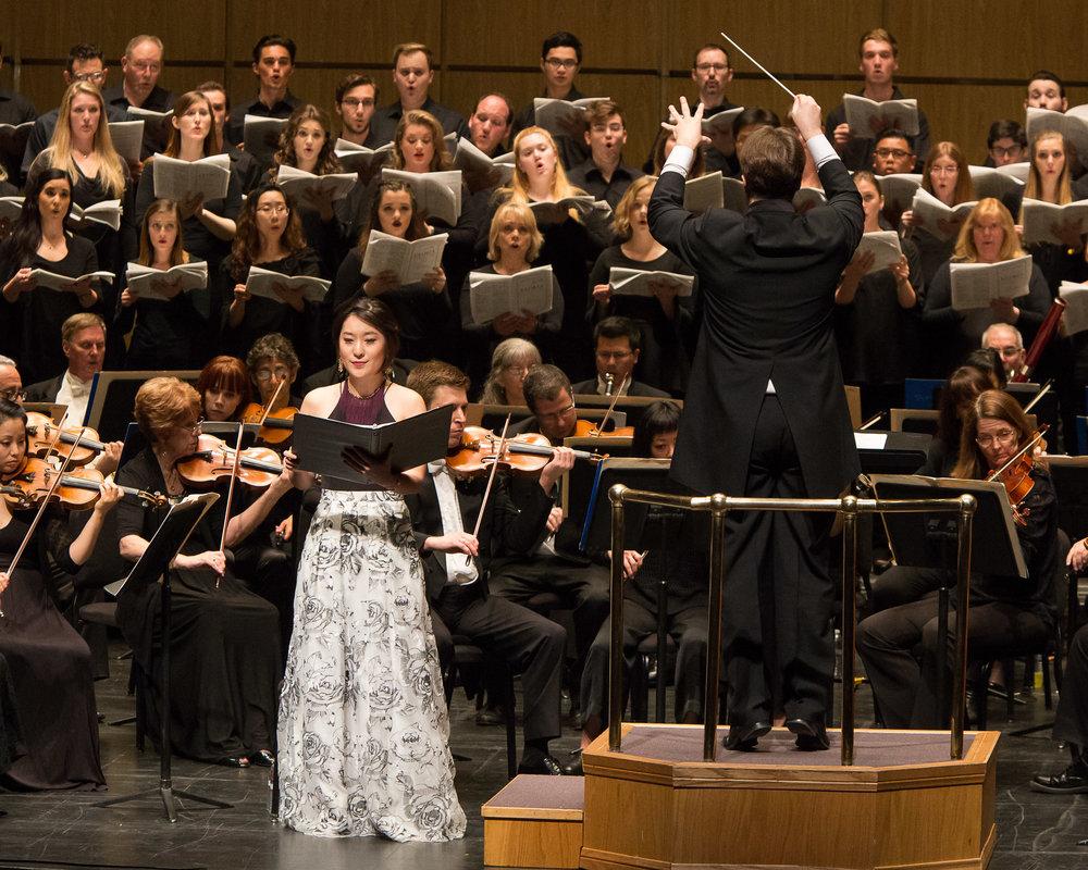 New West Symphony's Poulenc's Gloria   Photo Credit ;Eugene Yankovich