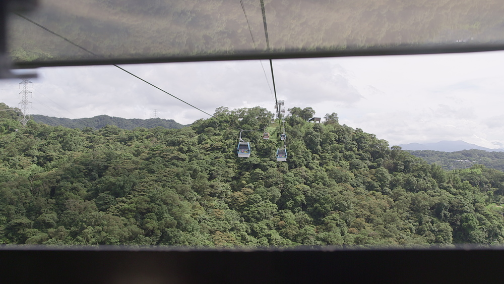 Here is the view from our Gondola. This ride was about 15 minutes long and went up the MaoKong Mountains.