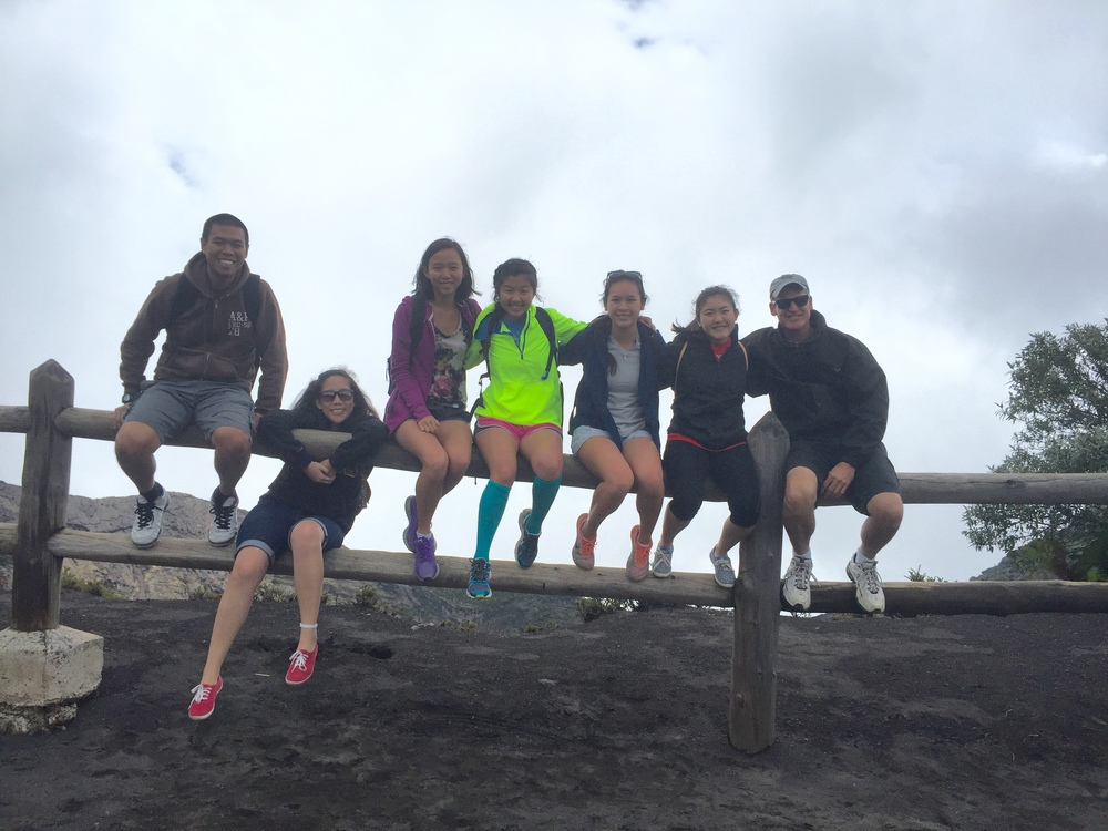 The team (from left to right: Brandon, Melissa, Karina, Lisa, Amy, Danielle,and Gary)