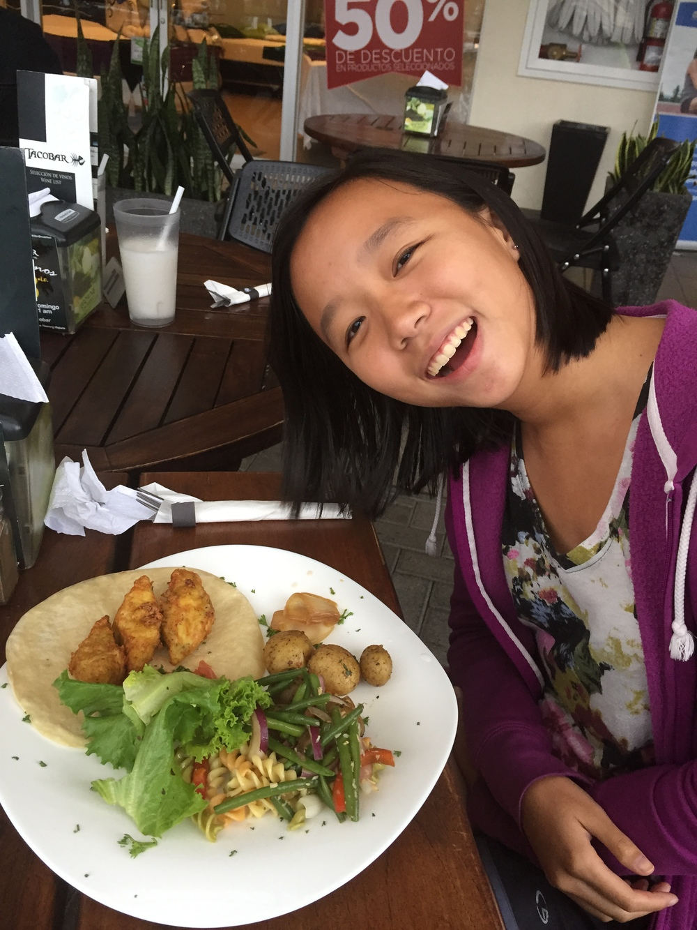 """""""Forget sterotypes on fried food, if it taste good, then I am going to get it"""" - Karina"""