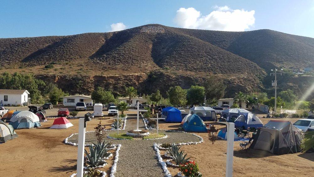 Our site in Ensenada