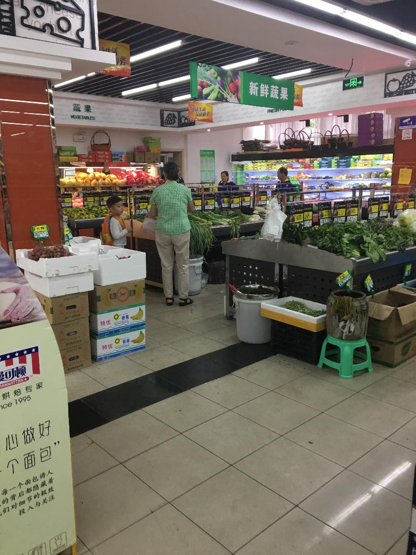 Shanghai grocery store
