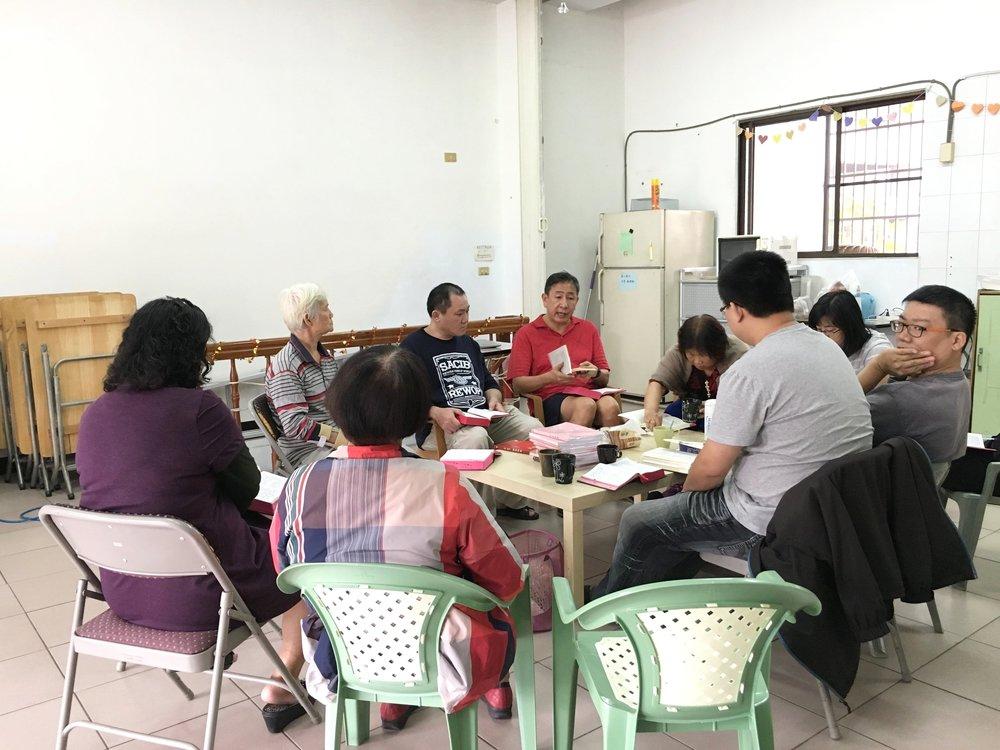 Saturday morning small group