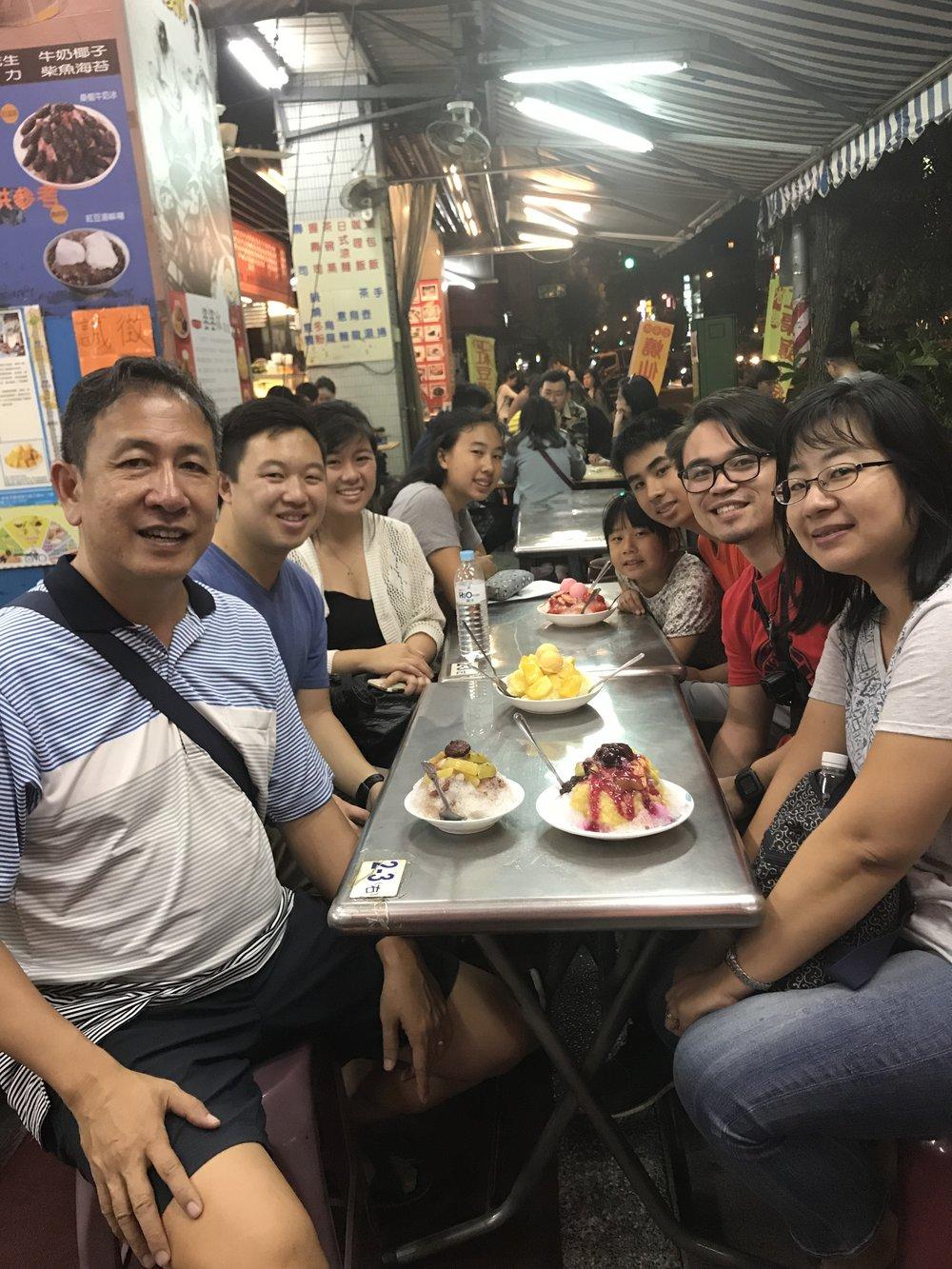 TCP Team + Hsu Family + Shaved Ice